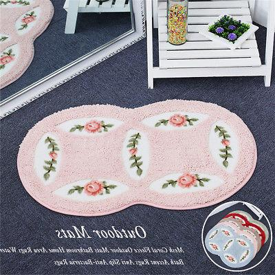 mesh coral mats bathroom home area rugs