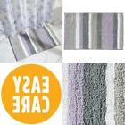 "Microfiber Stripes Bathroom Shower Accent Rug 34"" X 21"" Lave"