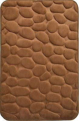 mocha brown memory foam bathroom mat 20