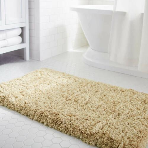 Lifewit Non slip Absorbtion Shower Rug Soft Microfiber Antib