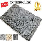Non-slip Bath Mat Microfiber Rugs Bathroom Bedroom Shower Ca