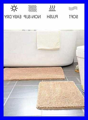 Non Chenille Rug Microfiber Water Absorb
