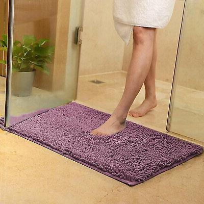 Soft Microfibre Slip Bathroom Carpet