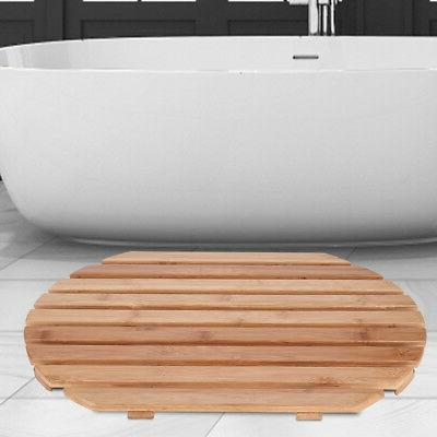 Non-Slip Bathroom Oval Bath
