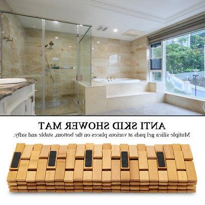 Non-Slip Bathroom Oval Bath Mat
