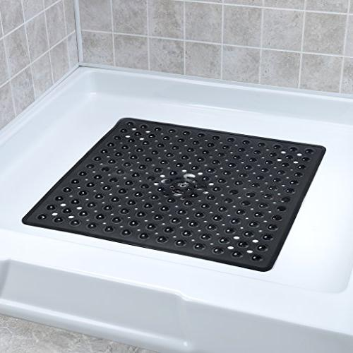 non square shower mat