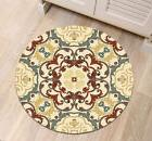 Oriental Art Mandala Bedroom Home Floor Non-slip Round Bath