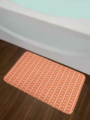 Ornate Bath Bathroom Plush Mat 29.5""