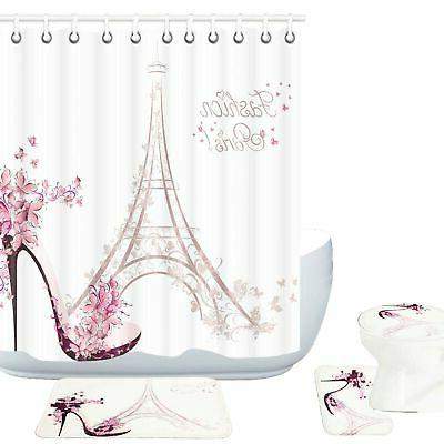 paris eiffel tower decor 16 piece bathroom