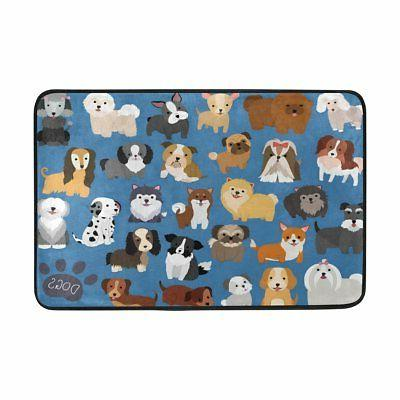 ALAZA Set Cute Animal 60 Curtain and Lovely