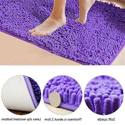 Shaggy Rug Shower Non-Slip
