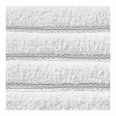 """mDesign Soft Cotton Ribbed Mat Rug - 34"""" x 21"""""""