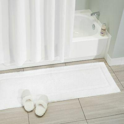 mDesign Cotton Spa Mat Varied Sizes, of 3