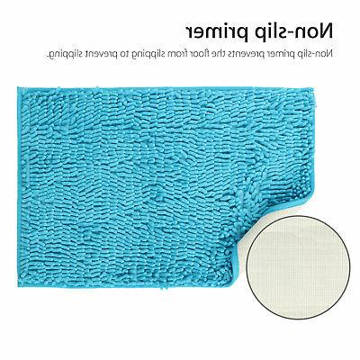 Soft Slip Absorbent Mat Bathroom Carpet