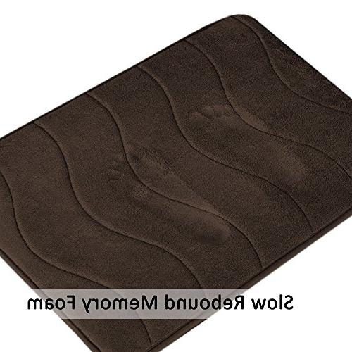 Memory Non-Slip Rugs Absorbent Comfortable