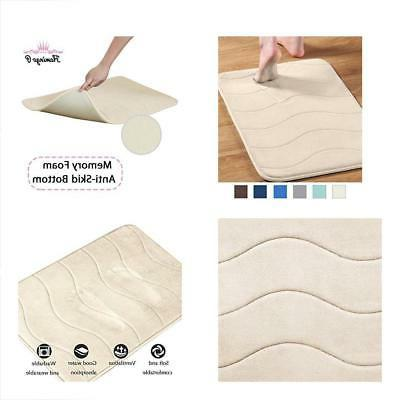 soft non slip absorbent bath rugs memory