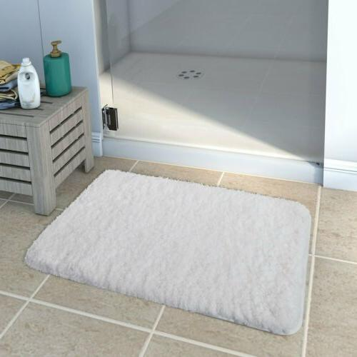 Lifewit Non-slip Rubber Rug Bedroom Soft Shaggy Bath Mat  Fl