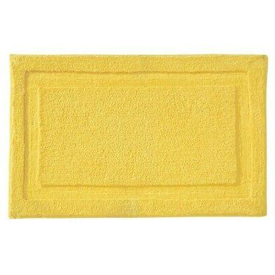 spa yellow indoor area rug