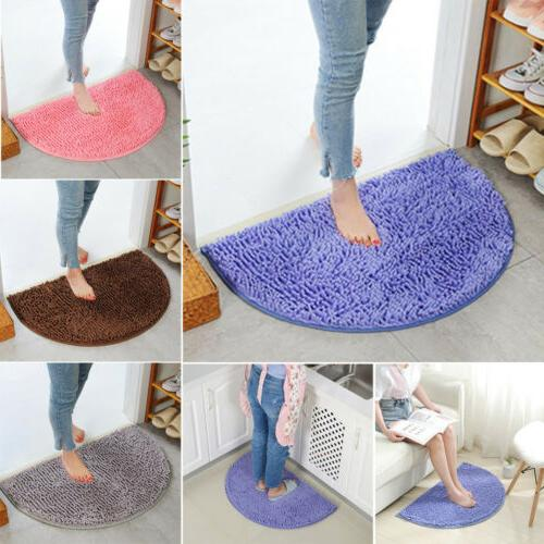 US Bathroom Shower Rugs Carpet Shaggy NonSlip Bath