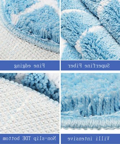 US Soft Area Rugs Room Carpet Bedroom Absorbent Mat