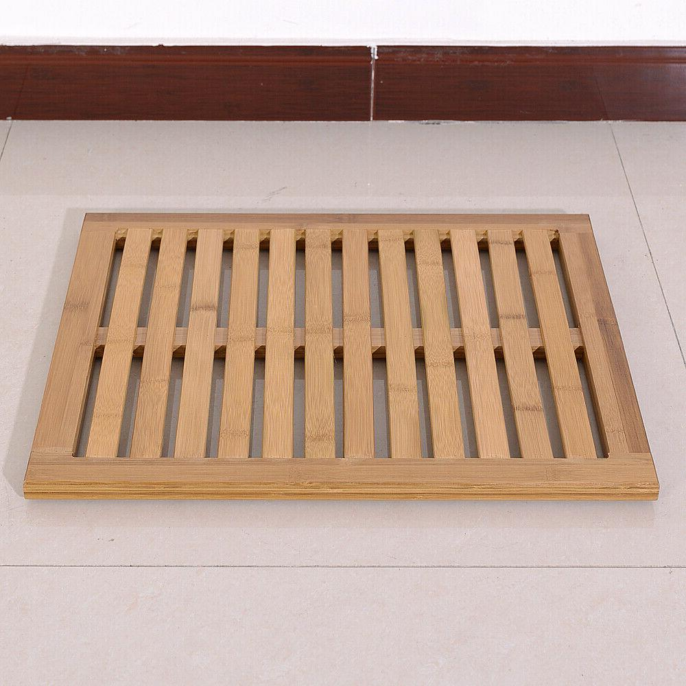 Bamboo Bath Pad Spa Home Decor