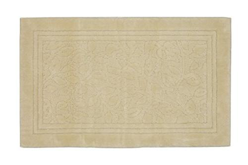 wellington ivory vine scroll plush