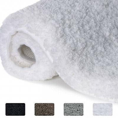 white 60404cm water absorbent bath mat non
