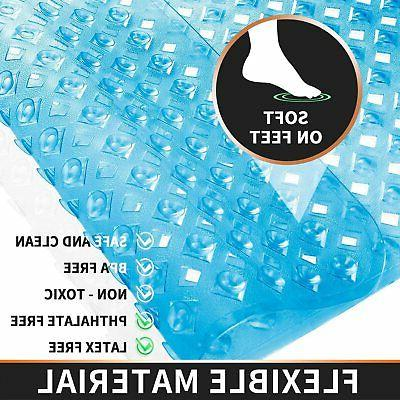 Yimobra Mat Slip Bathtub Mats with Drain