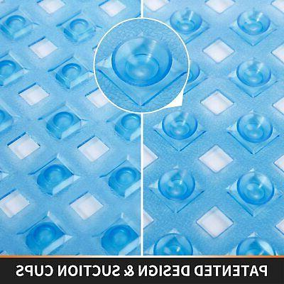 Yimobra Original Bath Shower Mat Tub, Slip Drain