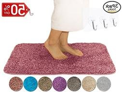 Yimobra Lively Color Bath Mats Luxurious Absorbent,Large XL