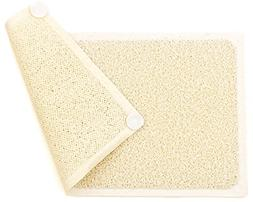 Loofah Shower Mat Non Slip Mildew Stain Resistant Fast Dryin