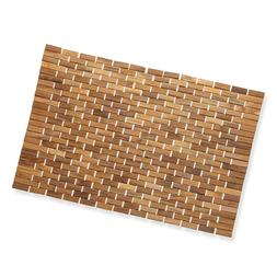 Luxurious Bamboo  Mat For Shower,, Spa Or Sauna 27x19 Large