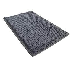 FINDNEW Luxury Plush Chenille Bathroom Rug,Soft&Absorbent Sh