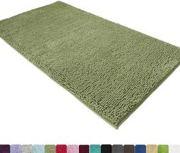 MAYSHINE Absorbent Microfiber Chenille Door Mat Runner for F