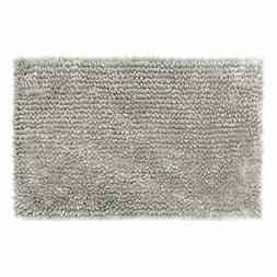"Jean Pierre Mega Butter Chenille 27"" x 45"" Bath Mat, Light G"