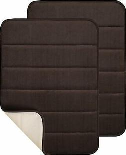 Magnificent 17 X 24 inch Memory Foam Bath Mat, Soft, Non-sli