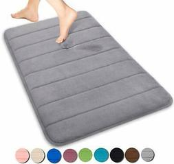 Yimobra Memory Foam Bath Mat Large Size 31.5 by 19.8 Inches