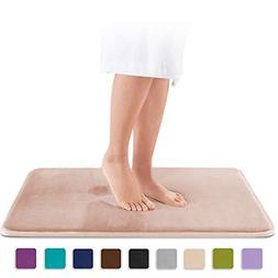 Genteele Memory Foam Bath Mat Non Slip Absorbent AND BEST Su