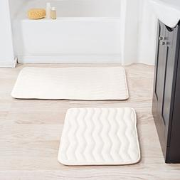 memory foam bath mat set
