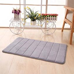 CarPet Memory Foam Floor Bath Mat Coral Velvet Anti-Slip Bat