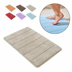 Memory Foam Mat Absorbent Aniti Slip Pad Bathroom Shower Bat