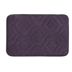 Bounce Comfort Naoli Micro Plush Memory Foam Bath Mat with B