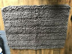 New Norwex Chenille Bath Mat Limited Edition - Graphite.
