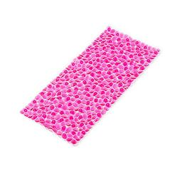 Non-Slip Antibacterial PVC Bath Mat with Suction Cups