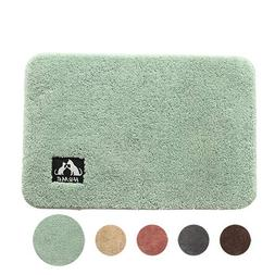 Non Slip Bathroom Mat, Super Soft Solid Color Kids Bath Mat,