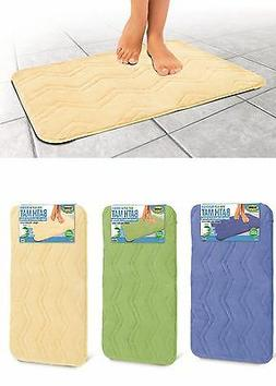 Non-Slip Microfiber Bath Mat Super Absorbent Rug Soft Carpet