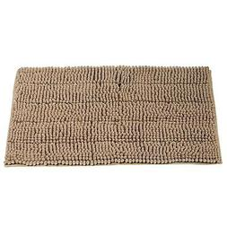Cloud Mountain Non-Slip Microfiber Bath Rugs Chenille Floor