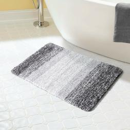 Lifewit Non-Slip Step Out Water Absorbent Shaggy Bath Mat Ba