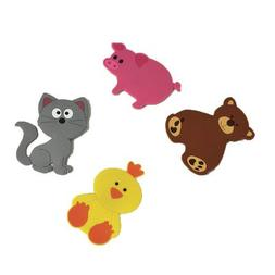 Evideco Baby Non Slippery Bathtub Treads Animals Multicolore
