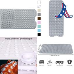Yimobra Original Bath Tub Shower Mat Extra Long Anti Bacteri